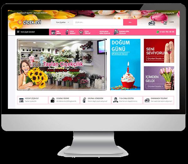 Hazır Çiçekçi Sitesi
